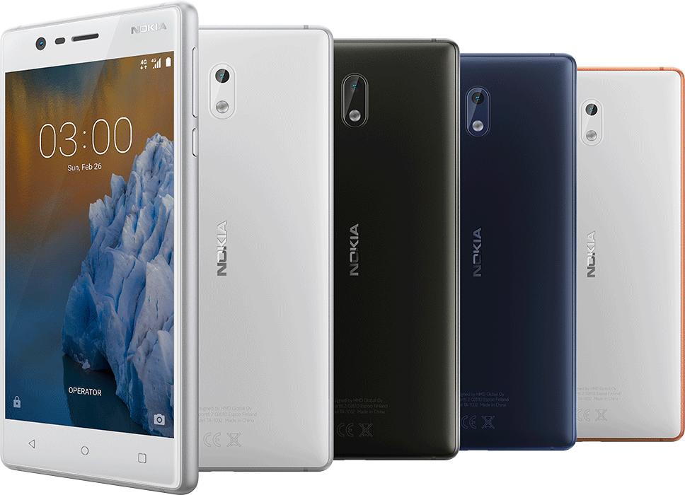 Возвращение смартфонов Nokia_обзор Nokia 3 и Nokia 5 - Nokia 3