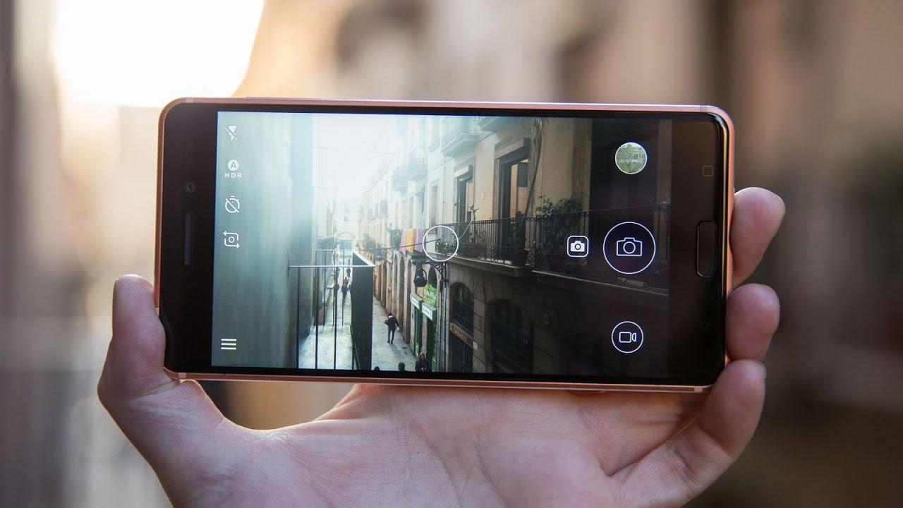 Возвращение смартфонов Nokia_обзор Nokia 3 и Nokia 5 - Nokia 5 камера