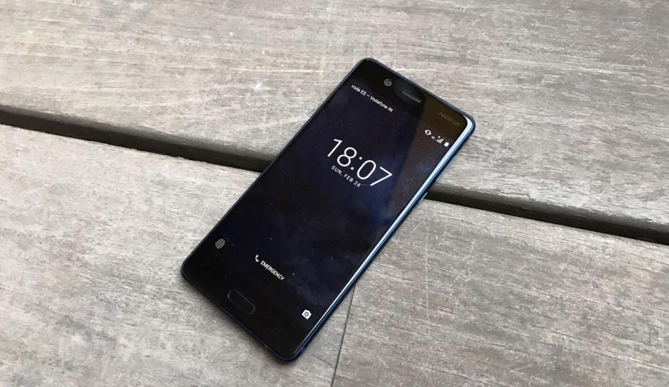Возвращение смартфонов Nokia_обзор Nokia 3 и Nokia 5 - Nokia 5 на столе