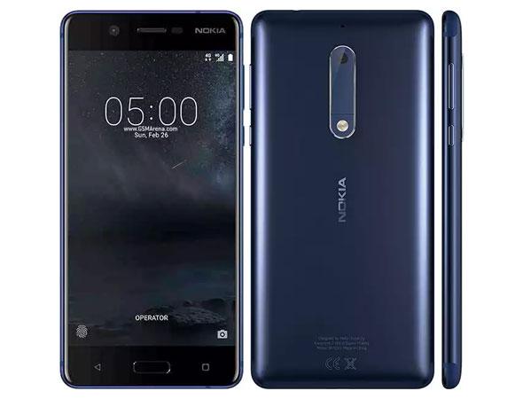 Возвращение смартфонов Nokia_обзор Nokia 3 и Nokia 5 - Nokia 5 с разных сторон