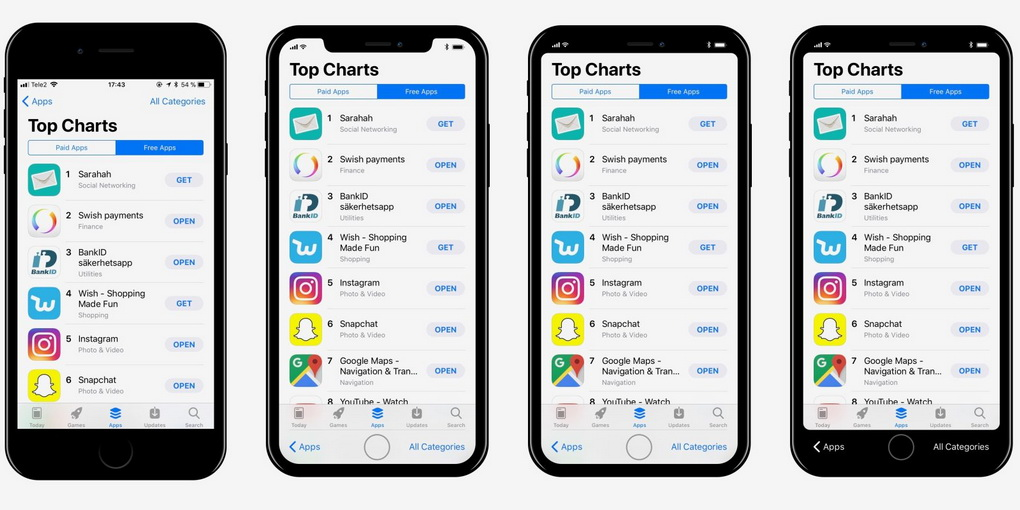 iPhone 8-iOS 11 дизайнер Макс Рудберг