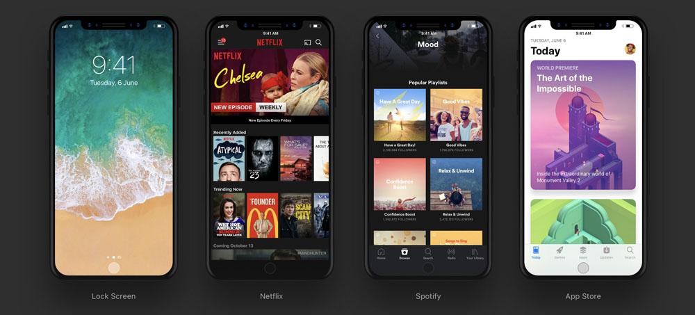iPhone 8-iOS 11 приложения