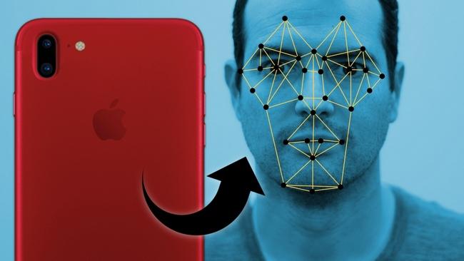 iPhone 8-система трехмерного распознавания лиц