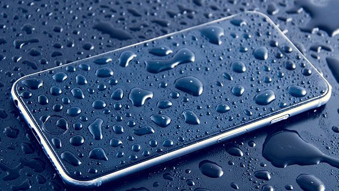 iPhone 8-защита корпуса от пыли и влаги