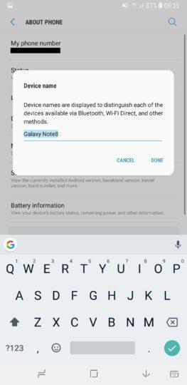 5 советов, которые помогут получить максимальную отдачу от Galaxy Note 8 – имя для смартфона