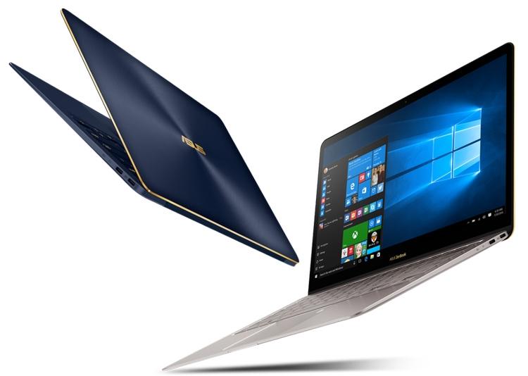 ASUS ZenBook 3 Deluxe (UX490)-дизайн