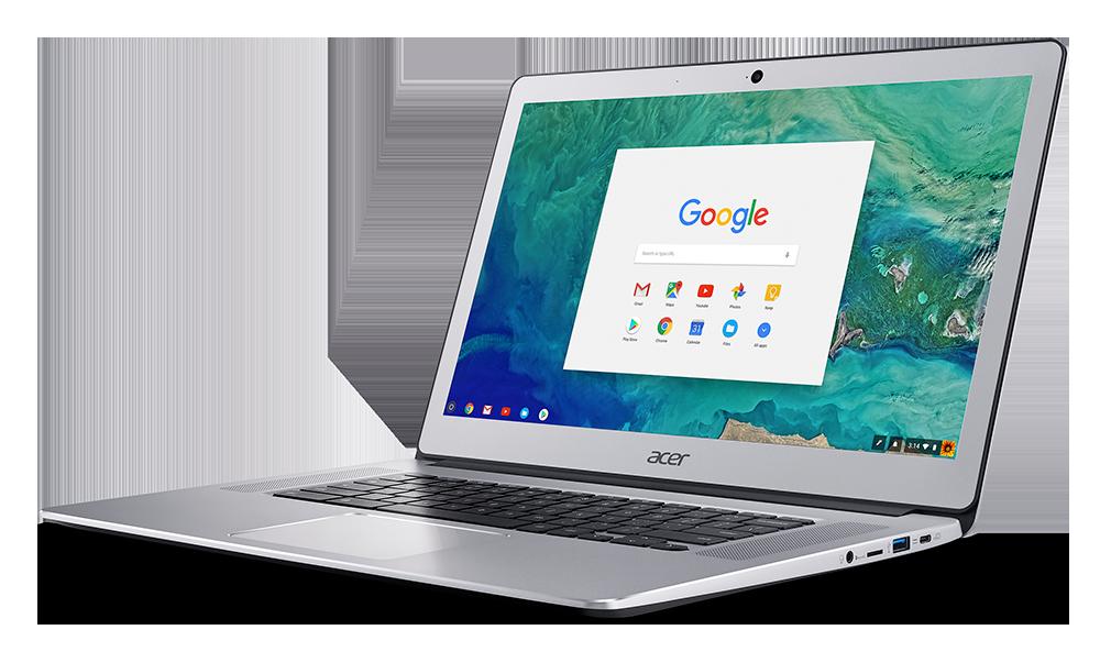 Acer Chromebook 15-дизайн
