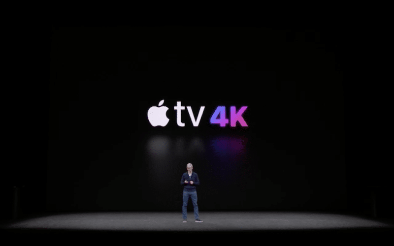 Apple TV 4K-фото с мероприятия
