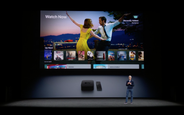 Apple TV 4K-фото с презентации