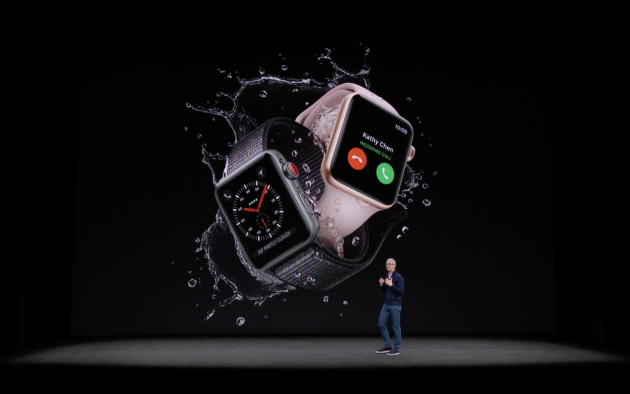 Apple Watch Series 3-фото с мероприятия