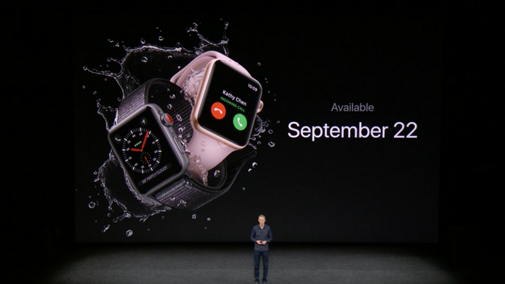 Apple Watch Series 3-старт продаж