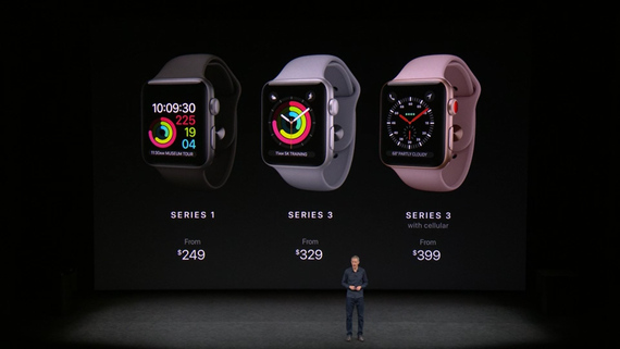 Apple Watch Series 3-цены