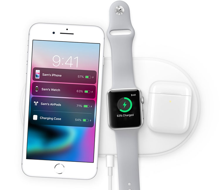 Apple-wireless charging