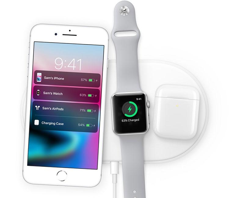 Apple-wireless charging