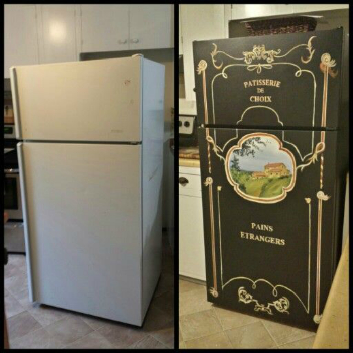 Декор холодильника-преображение на миллион