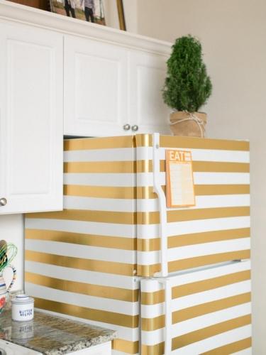 Декор старого холодильника-варианты