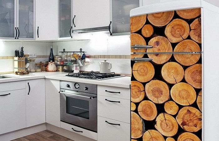 Холодильник-оригинальный декор