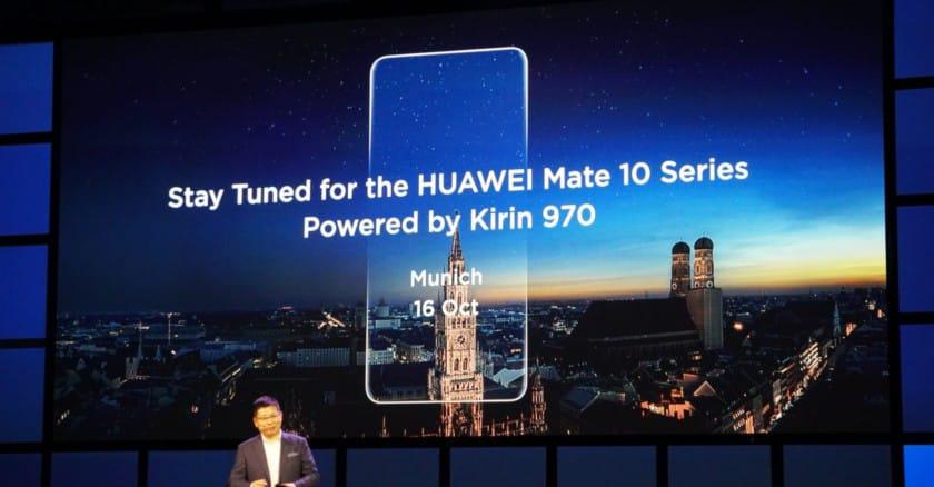 Huawei Mate 10-лицевая панель фото с мероприятия