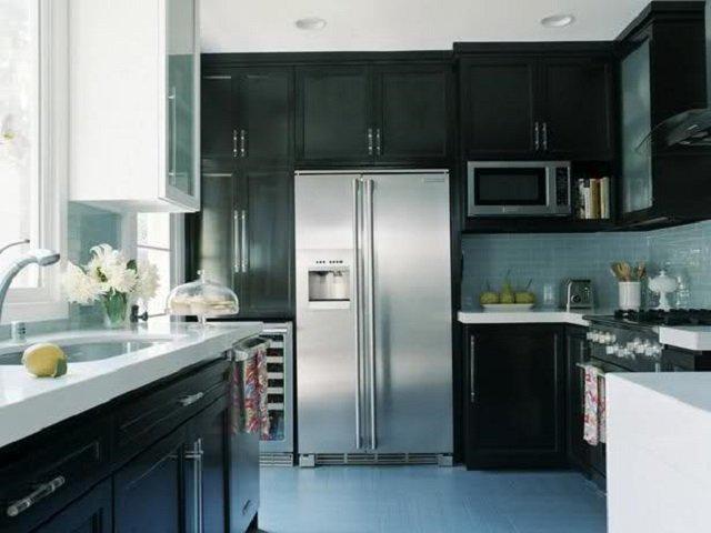 Какая температура должна быть, чтобы продукты не портились - холодильник на кухне