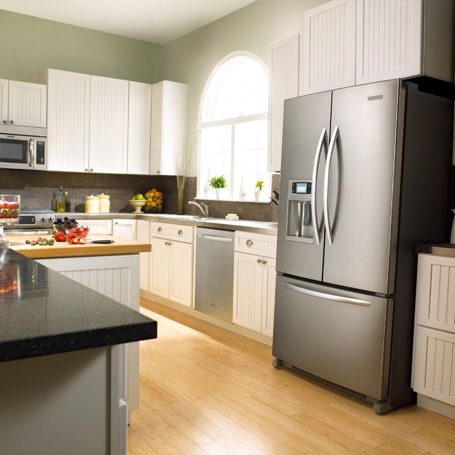 Какая температура должна быть, чтобы продукты не портились - холодильник в интерьере