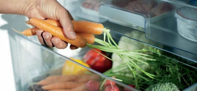Какая температура должна быть, чтобы продукты не портились - овощи в холодильнике