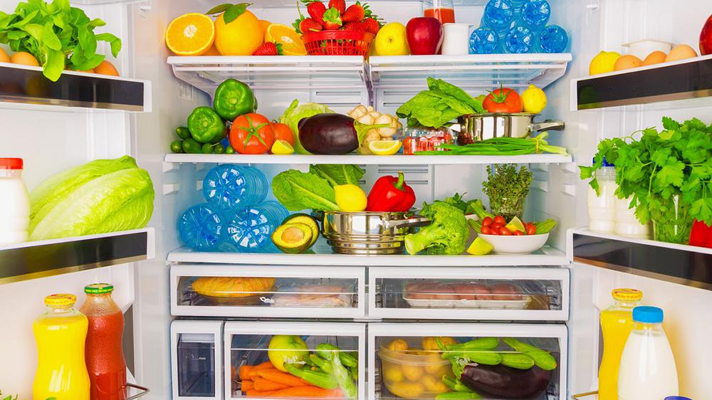 Какая температура должна быть, чтобы продукты не портились - продукты в холодильнике