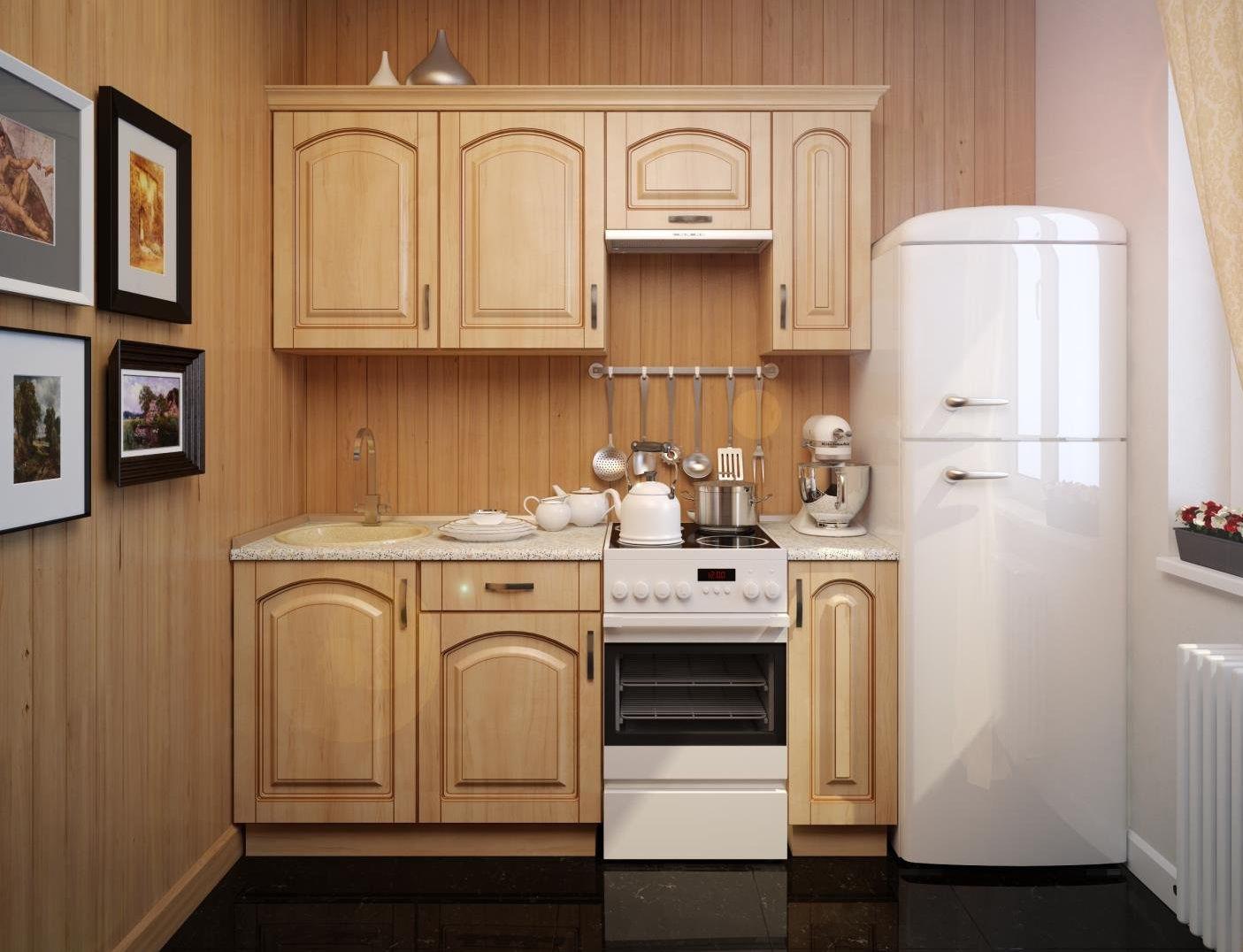 Какой компрессор лучше выбрать для холодильника - белый холодильник на кухне