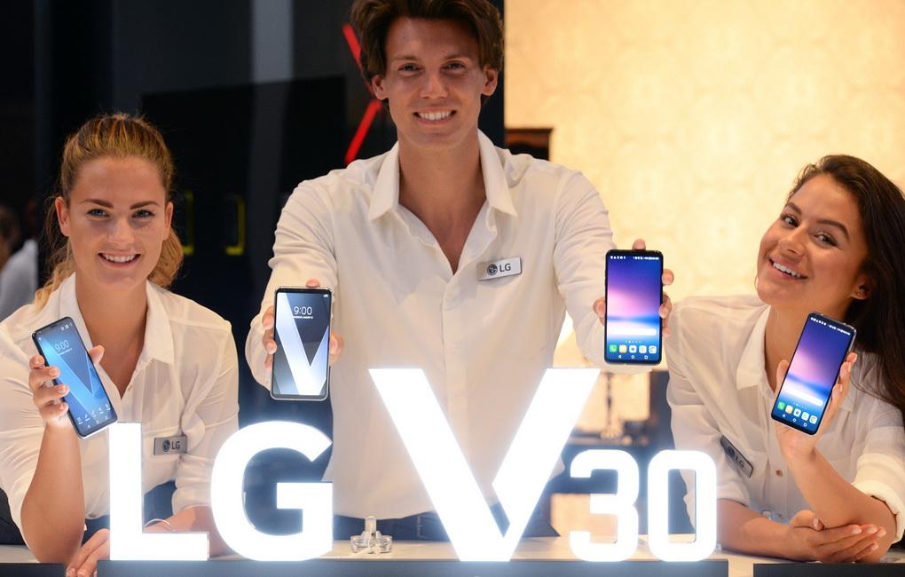 LG V30-фото с мероприятия