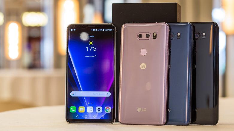 LG V30-расцветки модели фото 1