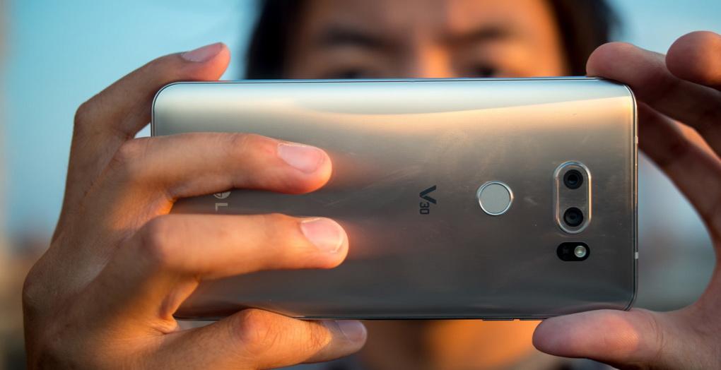 LG V30-съемка фото
