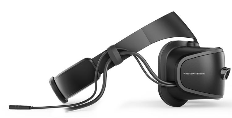 Lenovo Explorer-шлем смешанной реальности фото 4 вид сбоку