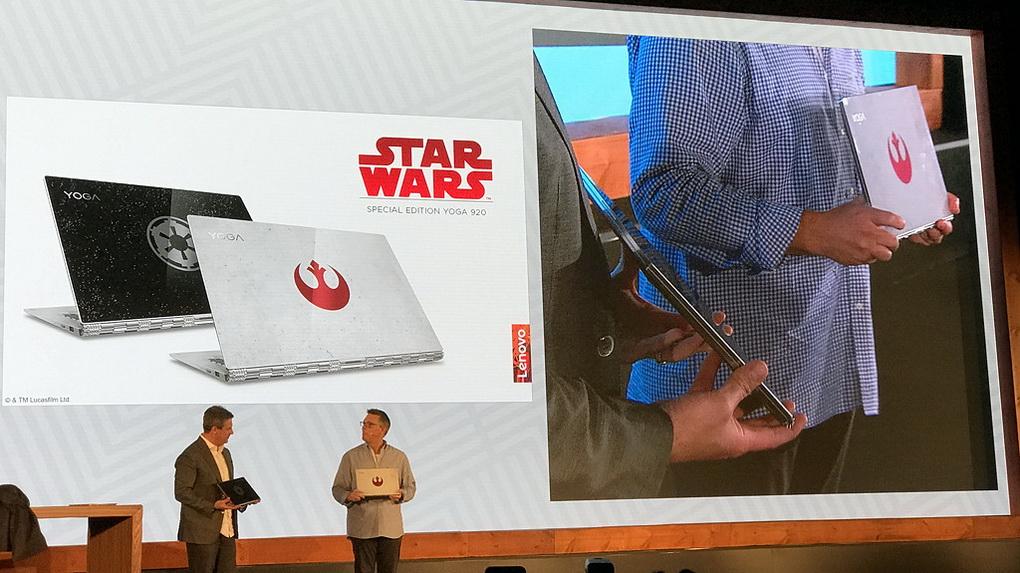 Lenovo Yoga 920-Звездные войны фото 5