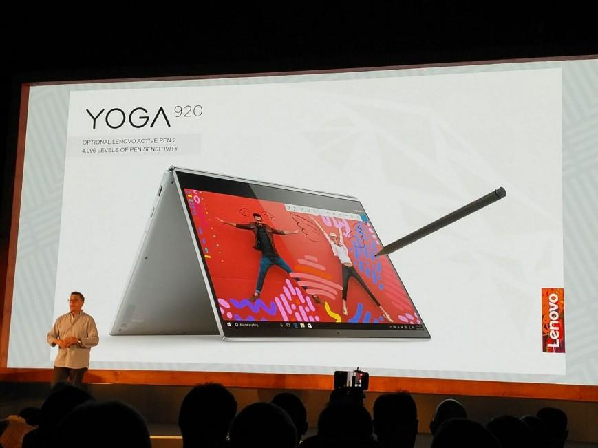 Lenovo Yoga 920-презентация