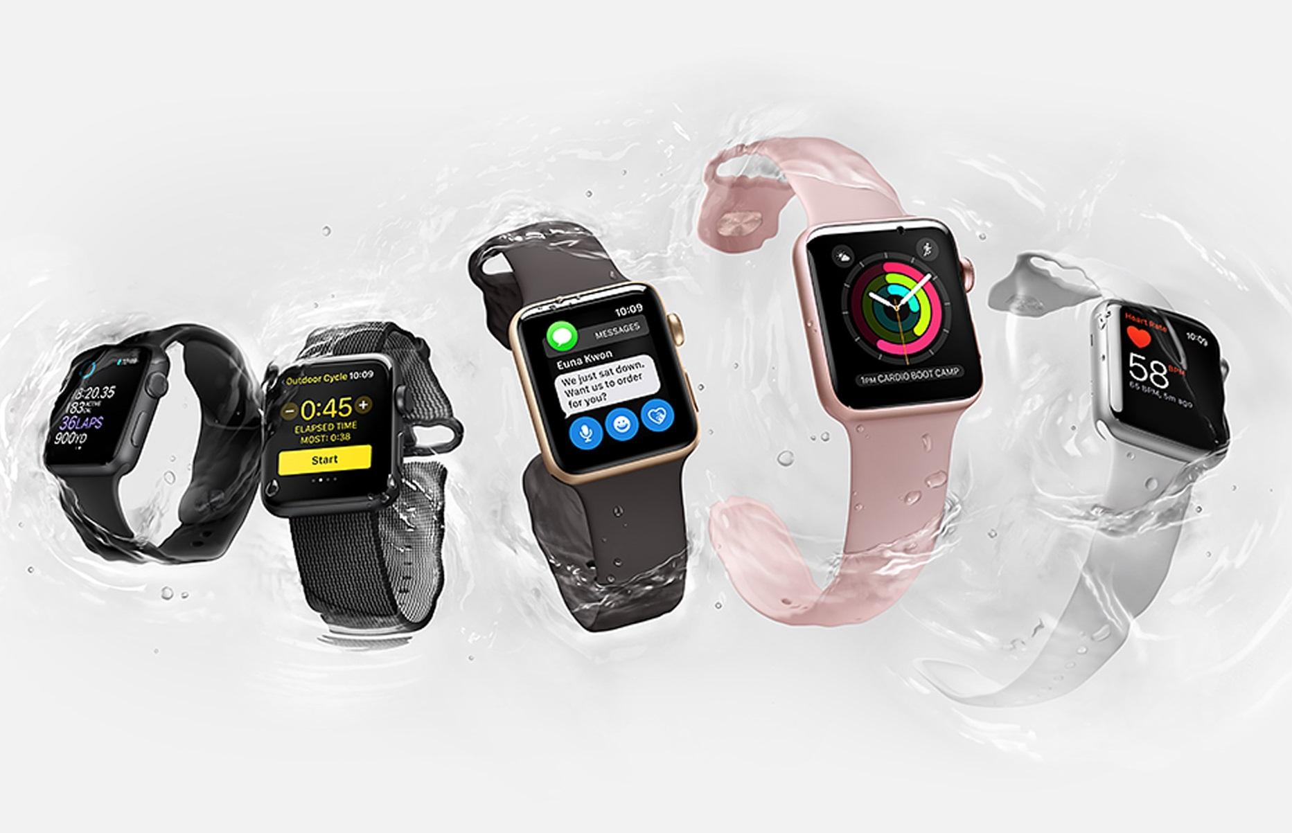 Лучшие смарт-часы (осень 2017 года) - Apple Watch Series 2