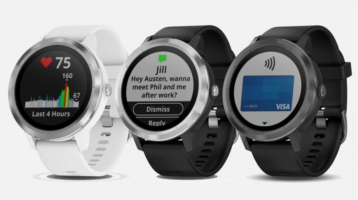 Лучшие смарт-часы (осень 2017 года) - Garmin Vivoactive 3