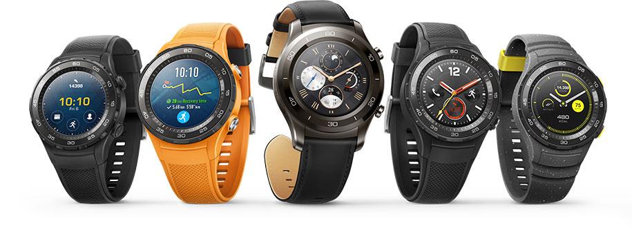 Лучшие смарт-часы (осень 2017 года) - Huawei Watch 2