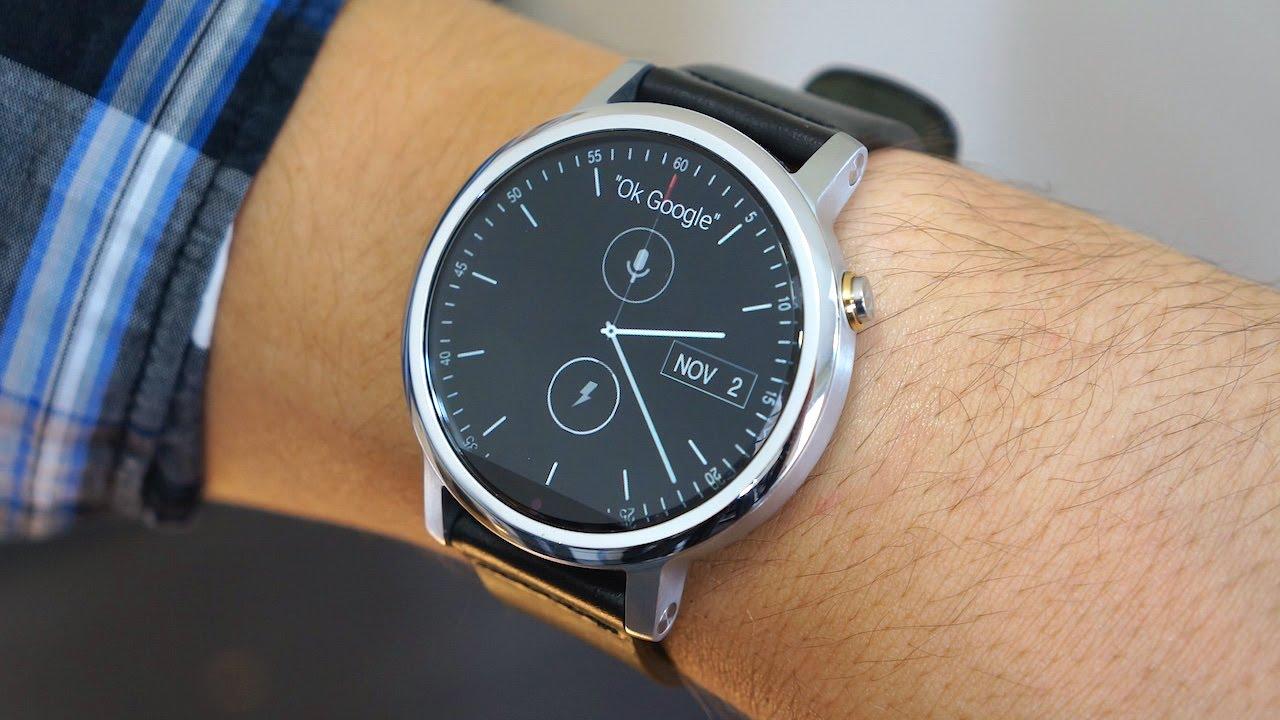 Лучшие смарт-часы (осень 2017 года) - Motorola Moto 360 2nd gen