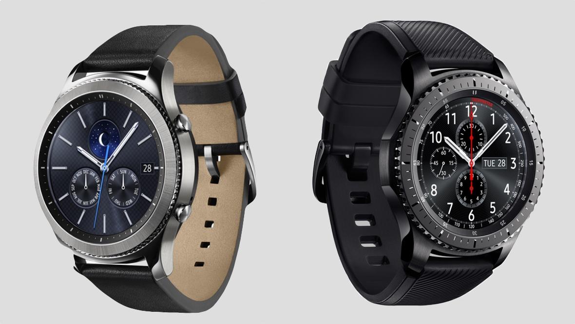 Лучшие смарт-часы (осень 2017 года) - Samsung Gear S3 Classic и Frontier