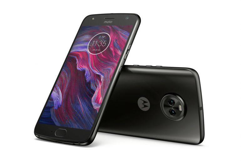 Motorola Moto X4-ракурсы экран и задняя панель фото 2
