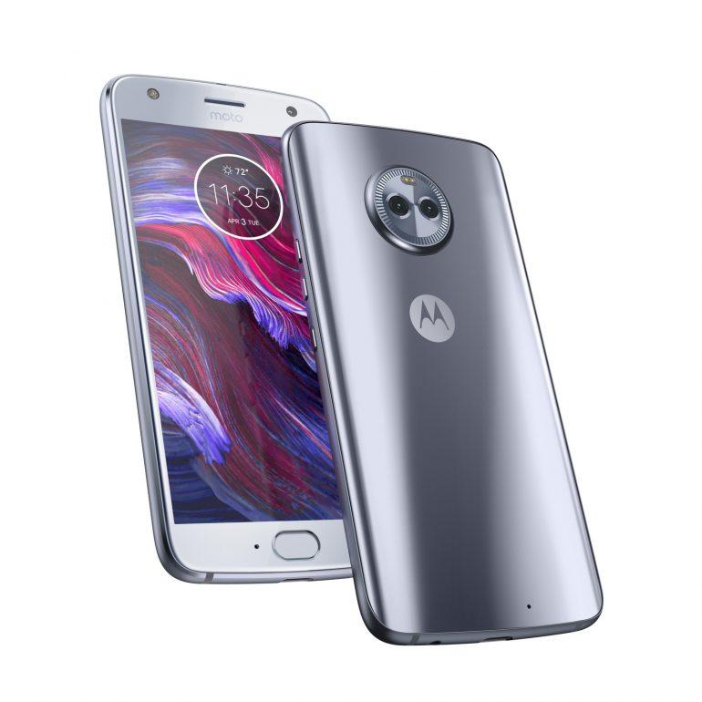 Motorola Moto X4-ракурсы экран и задняя панель
