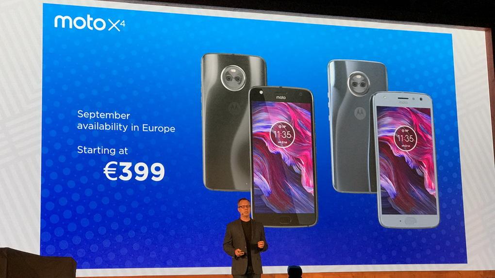 Motorola Moto X4-стоимость