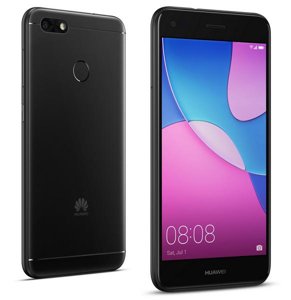 Обзор Huawei Nova Lite 2017 - смартфон в черном цвете