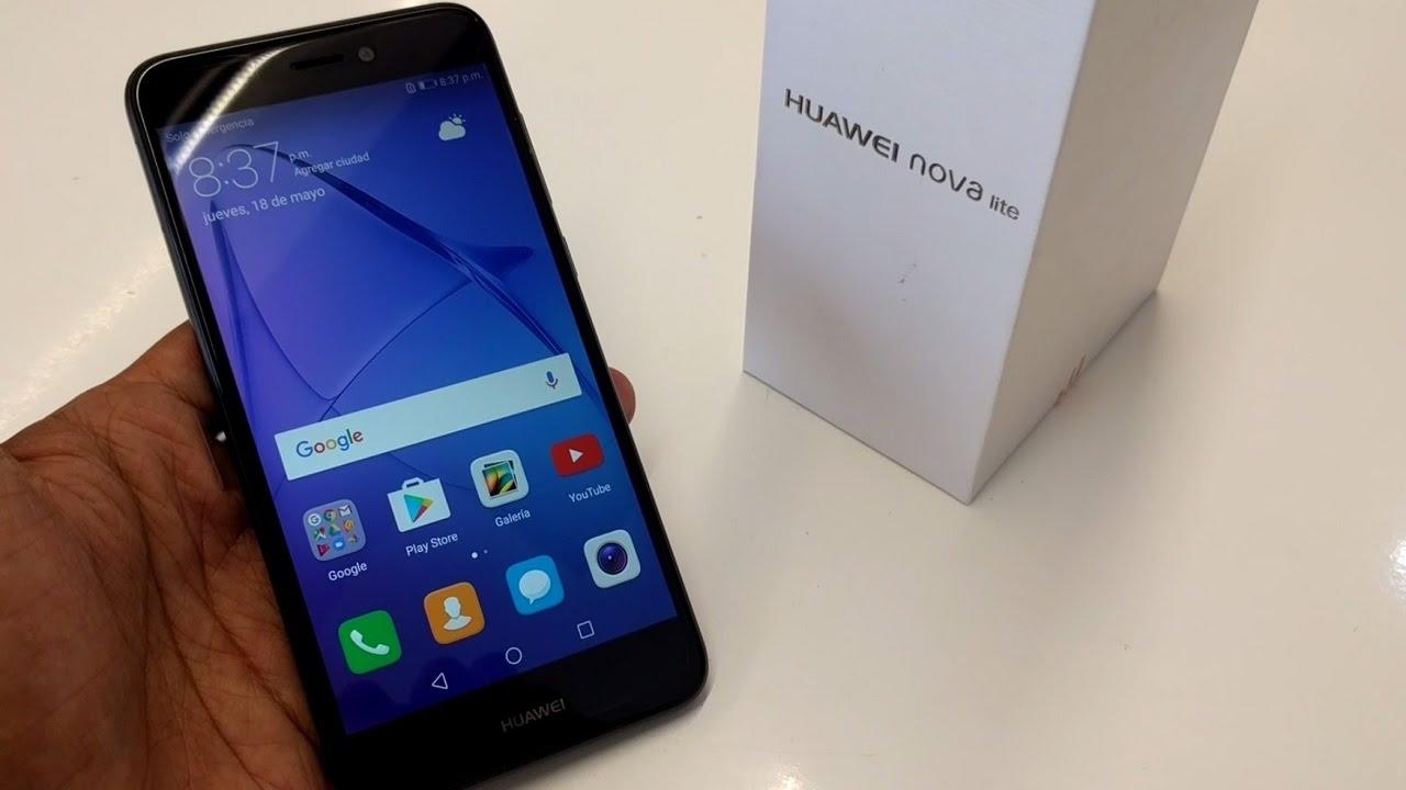 Обзор Huawei Nova Lite 2017 - смартфон в руке