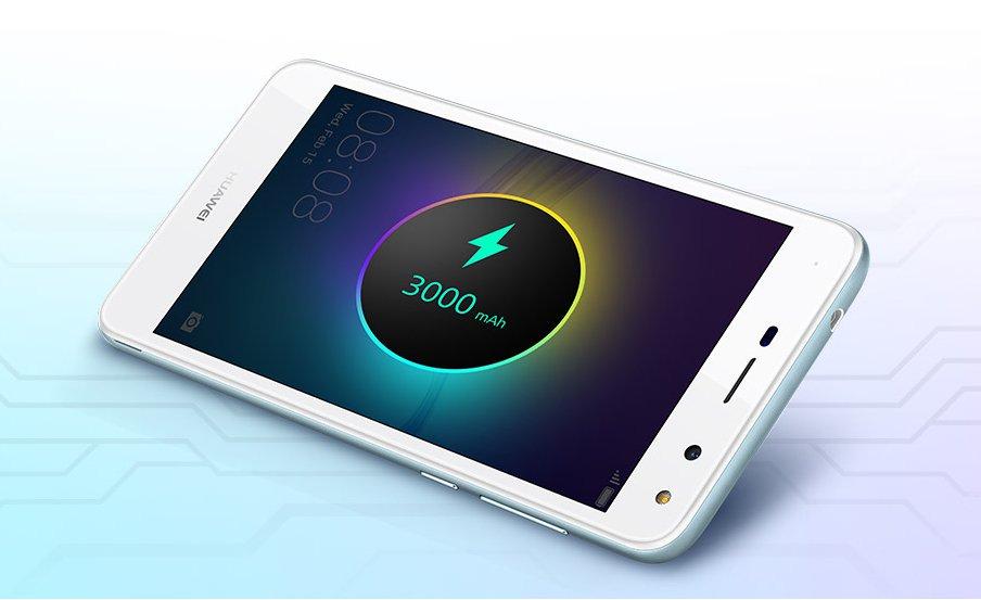 Обзор Huawei Y5 2017 - батарея смартфона