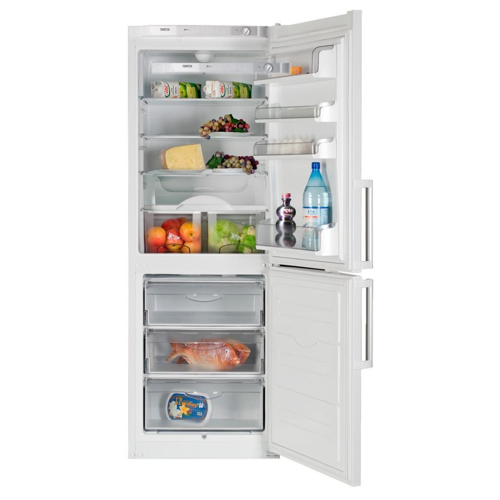 Обзор холодильников атлант_талантливая техника из белоруссии - холодильник с нижней морозильной камерой