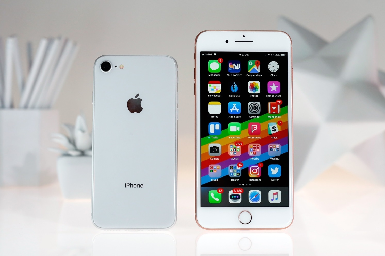 Обзор новых яблочных смартфонов iPhone 8 и iPhone 8 Plus - дизайн