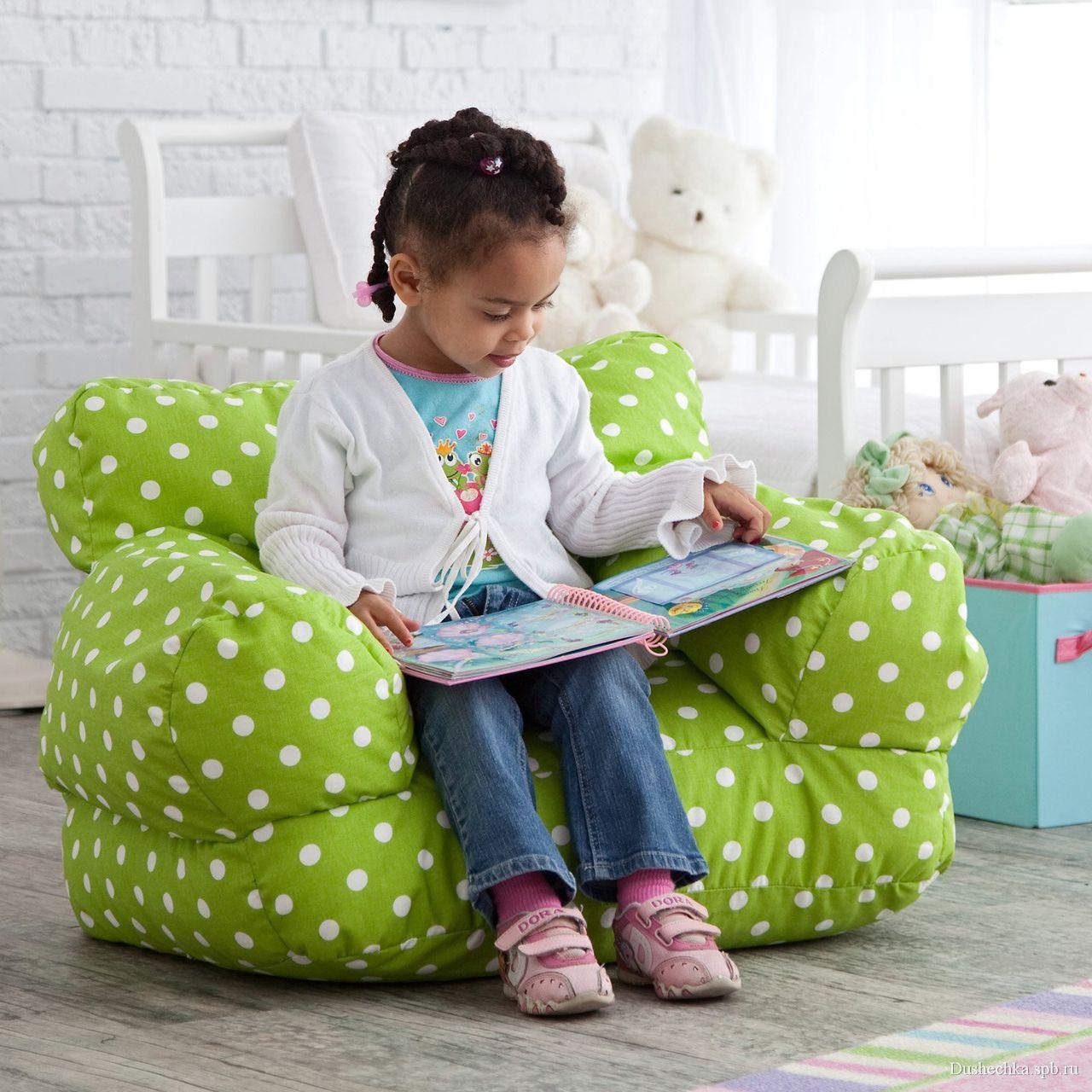 Папка «Фото», Что такое бескаркасная мебель и в чем ее преимущества – яркое кресло-мешок.