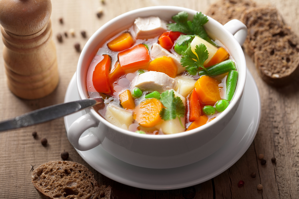 Папка «Фото», Сезонные продукты-осенний режим питания – овощной суп.