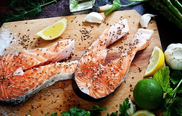 Папка «Фото», Сезонные продукты-осенний режим питания – рыба.