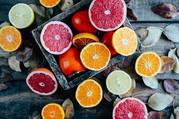 Папка «Фото», Сезонные продукты-осенний режим питания – цитрусовые.